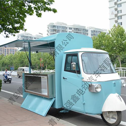 tuk tuk food truck Piaggio Ape espresso Street food truck