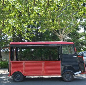Citroen Vintage food truck large room to use from China