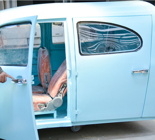Vintage car for event use or display use
