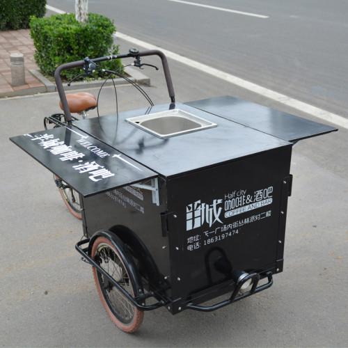 vintage food cart chinese food truck manufacturer