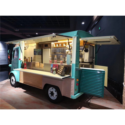 food truck which is special manufactured