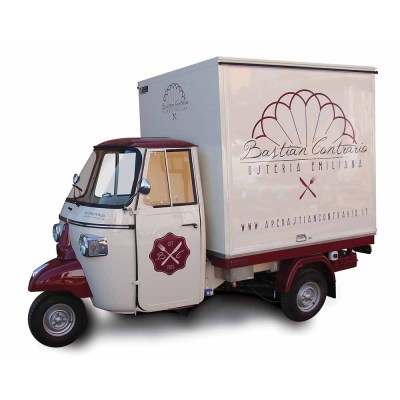 Piaggio food truck good quality manufacturer