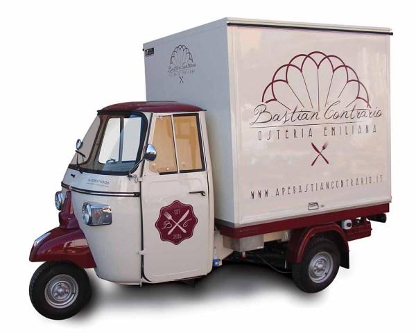 Piaggio food truck good quality manufacturer