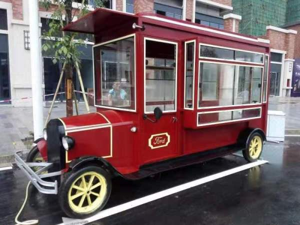 classical car used for display media film pops