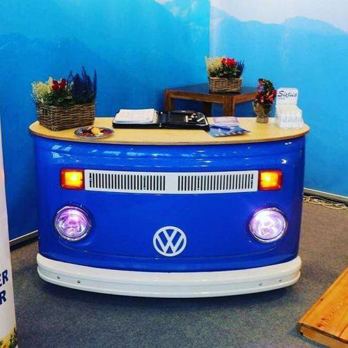 vintage car furniture manufacturer for front desk