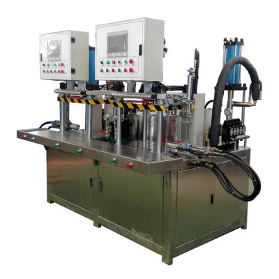 Double position water soluble wax type wax injection machine