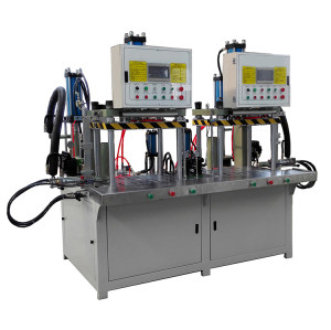 High Precision double station hydraulic wax injection machine