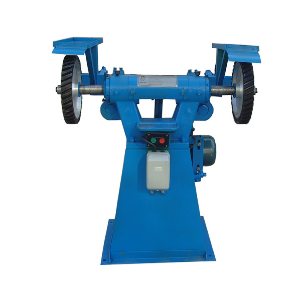 Automatic surface grinding machines metal belt grinder double head