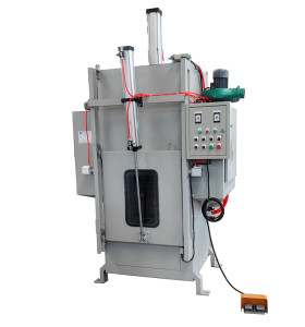 Investment casting equipment closed shock shell machine