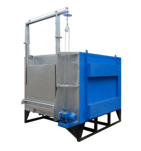 Silica sol process mold shell roaster