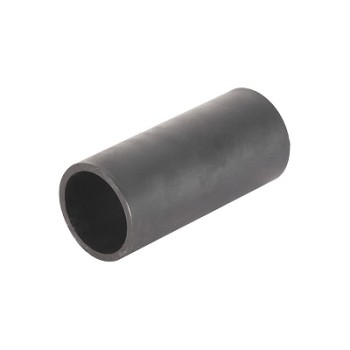 Q215 Q235 Q345 Black ERW Round Steel Pipes Carbon Material Hot Rolled