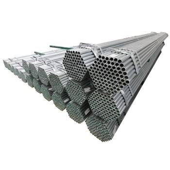2 12 인치 ASTM A53 일정 40 온실 아연 도금 파이프 스틸 원형 튜브