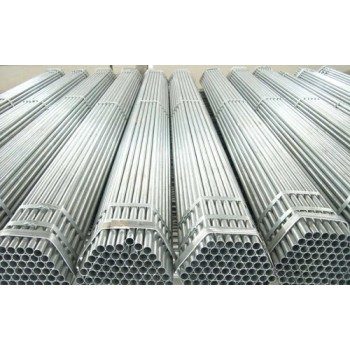 Manufacturer Prime Quality ASTM BS 1387 Black Tube Gi Galvanized Steel Pipe For Construction