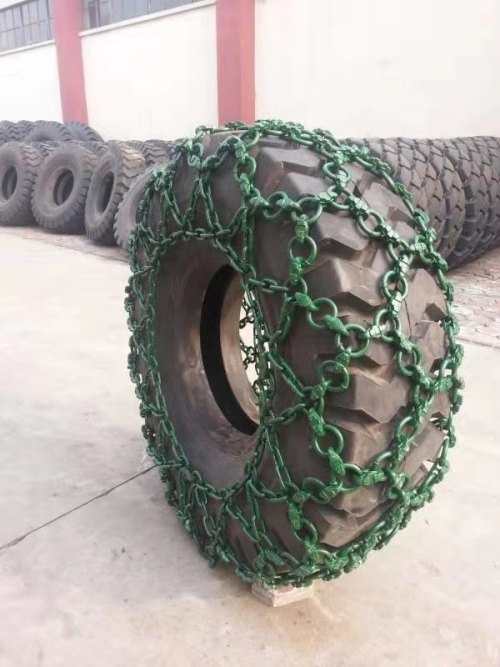 Factory express excavator tire protection chains