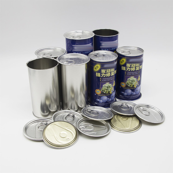 metal ring pull tin,tomato sauce tin can