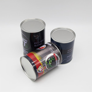 Wholesale 100 ml to 1L Custom Metal Engine Oil Can Round Motorcycle Oil Tin Can
