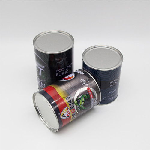 metal tin container with plastic handle,rust resistant tin oil can with plastin lid