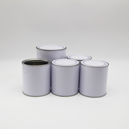 tin can 2 liter 925ml paint tin can,adhesive tin can