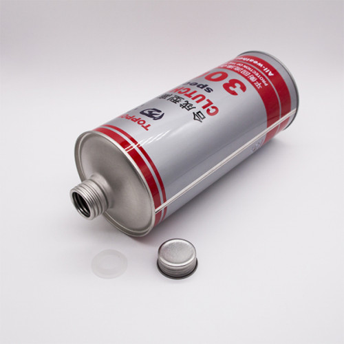 1L High quality brake oil can screw cap tin can
