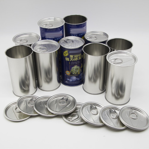 400g tin tinplate can for food,empty metal edible oil tin can
