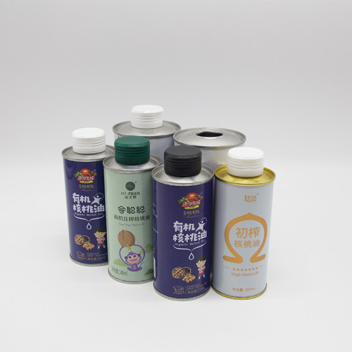 vegetable olive oil tin can,rapeseed oil metal tin can