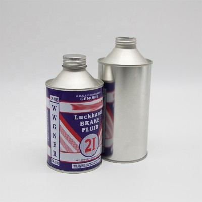 Dia 65mm small Brake oil and cleaning oil empty round can