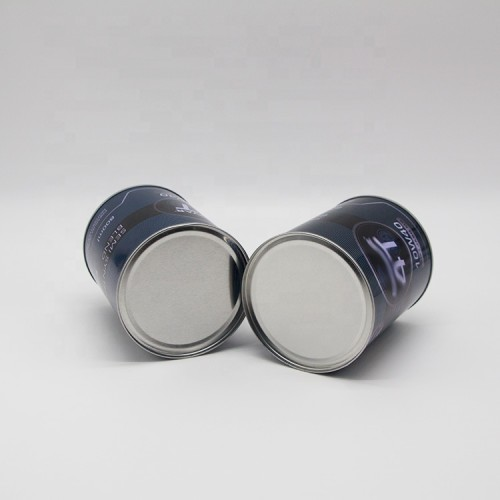 800ml empty metal round oil paint packing can