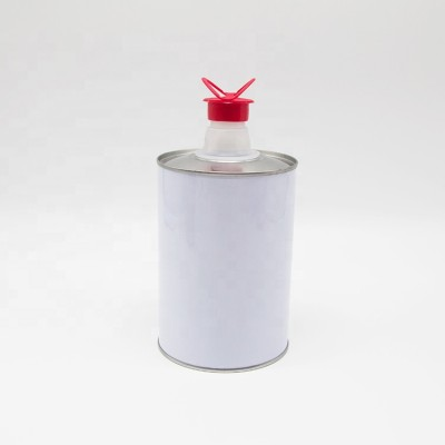 Factory Directly 60g metal 608rs 800ml round tin can