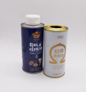 Food grade oil can manufacturer edible cooking oil coconut olive oil empty cans
