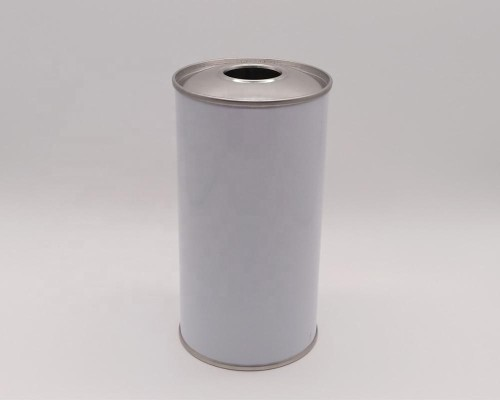 Round shape metal tinplate can for edible cooking oil packaging