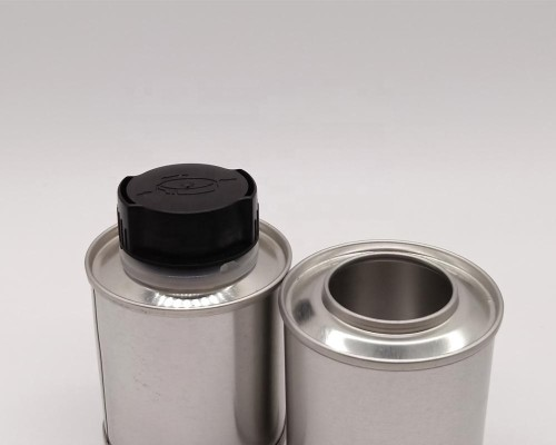Engine Oil Tin Cans Motor Oil Metal Can 100ml Lubricant Can With screw cap