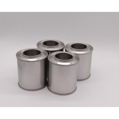 Oil additive engine anti-wear protection Tinplate Metal can with plastic screw cap manufacturer