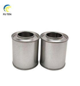 Wholesale metal tinplate engine oil lubricant can with plastic spout