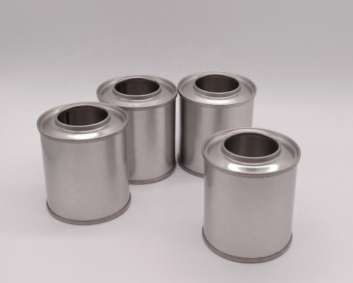 Good price 100ml metal container industrial oil cans with plastic funnel