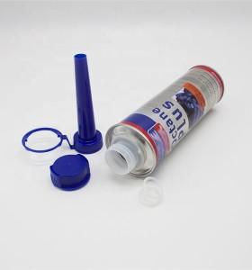 Aerosol can manufacturer tinplate round oil additive can car care engine motor flush metal tin aerosol can
