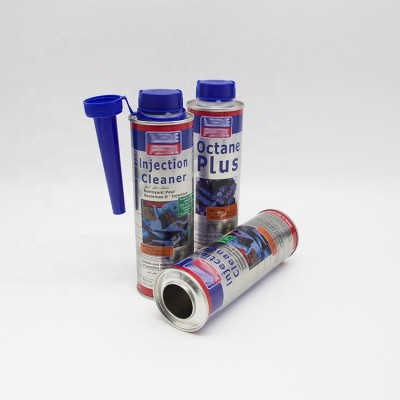 350ml additive metal motor oil can tin container with cap,round oil tin container