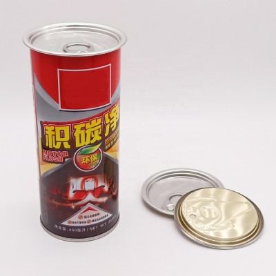 Hot new products 500 ml round tin for paint can with easy open lid