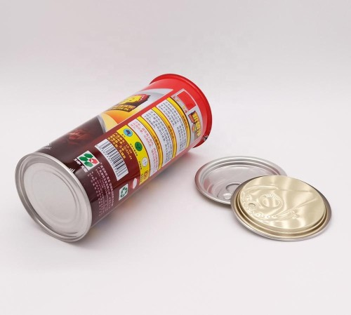 metal ring pull tin,tomato sauce tin can