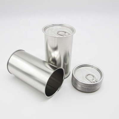 500 ml Cmyk printing easy-open oil tin can