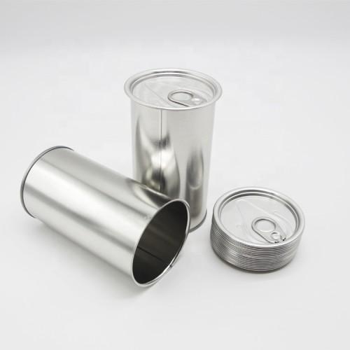 500 ml Cmyk printing easy-open oil tin can