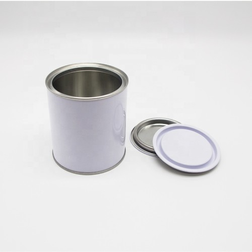 Professional triple tight lid oil tin plastic cap for round paint can
