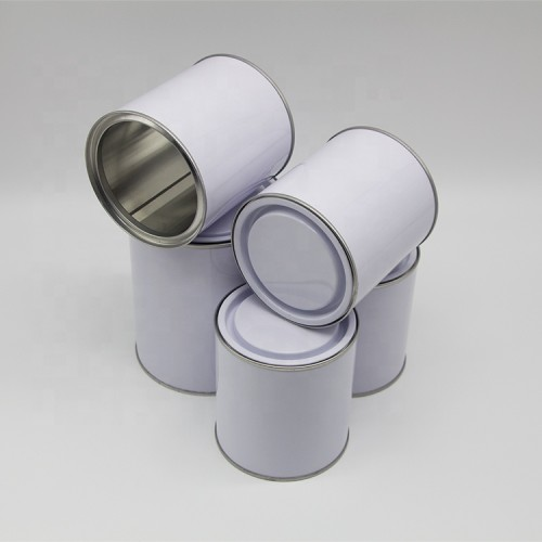 1liter paint tin can 2 gallon,2 l tin can round