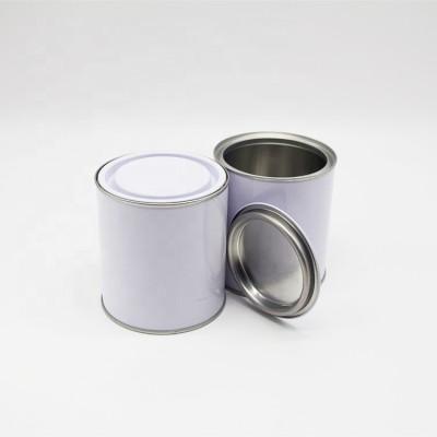 tin can 2 liter 925ml paint tin can,adhesive tin can
