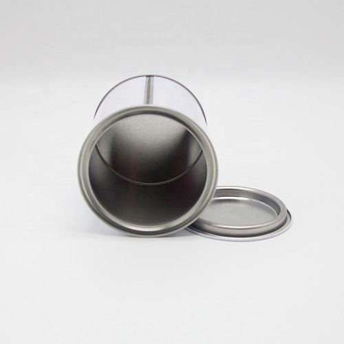 500ml 1L round chemical tin can thickness 0.22-0.25mm with metal cover