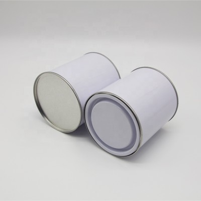 1l tin can for chemical pack,1kg ink metal tin,1 liter paint tin can