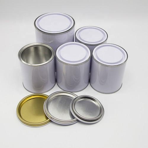 0.5 liter tin can for glue,composite tin can