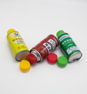 500 ml white aerosol can,pu foam empty aerosol can