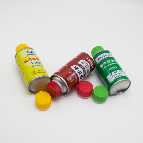 500 ml white aerosol can,pu foam empty aerosol can