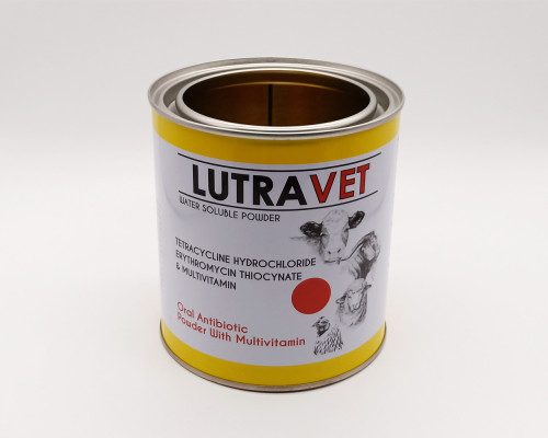 1L Round tin can for milk powder