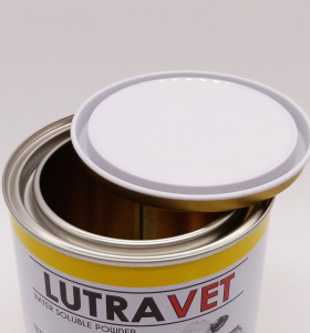 1.5l empty tin can 65x65x45,metal round shape milk tin can